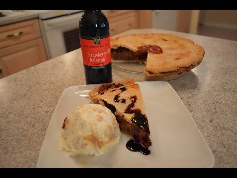 How to Bake Napa Valley Strawberry Balsamic Rhubarb Pie: Wine Country Kitchens with Kimberly