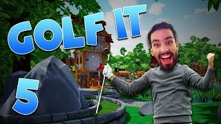 Master Stroker &  Stargate Hole! (Golf It #5)