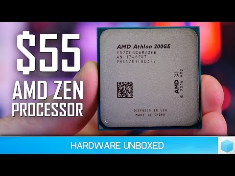 AMD Athlon 200GE, The New Entry-Level King