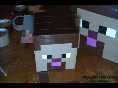 Minecraft Steve Head Timelapse