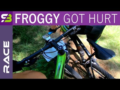 My Crazy Chase + Froggy Gets Hurt... Full MTB Race