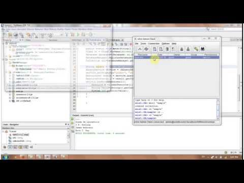 How to Use Java and XML along with Existdb to upload and query the XML file From Java using Netbeans
