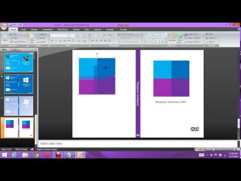 Creating a DVD Cover with Powerpoint by Chamuth Chamandana