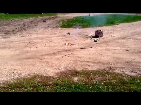 Hundreds of sparklers ignite (flash bang