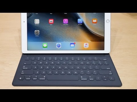iPad Pro Smart Keyboard Hands-On - Worth it?