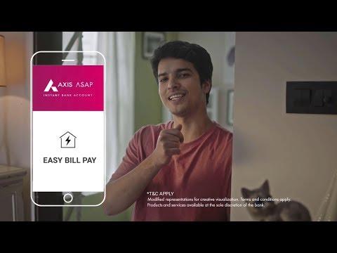 Axis ASAP | Bill Payment