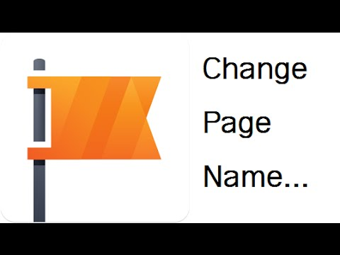 How to change Facebook Page name (can change all page) | របៀបប្តូរឈ្មោះ Facebook Page បានទូទៅ