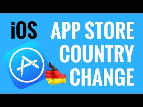 App Store Country Change on iPhone or iPad