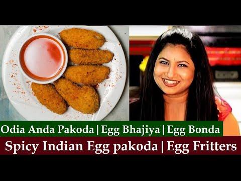 Egg Pakoda Recipe - Non Veg. Snacks | Easy & Quick recipe | Indian Egg Fritters
