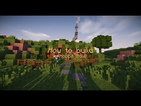 How to build a hobbit hole in minecraft - tutorial.