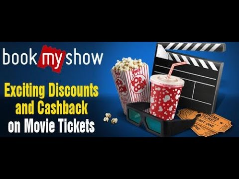 How to Book free ticket on Bookmyshow com