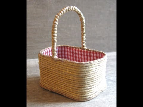 1/12th Scale Shopping Basket Tutorial