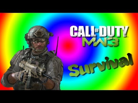 MW3 Survival in Underground with Nick and Leo