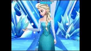 Queen Elsa sings Bad romance Lady gaga MMD FROZEN 3D