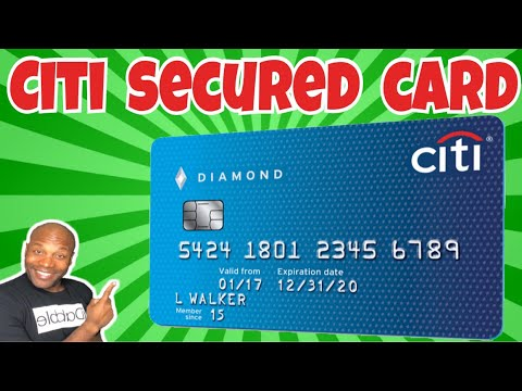 Citibank Secured Credit Card