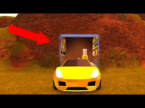 NEW SECRET CAR LOCATION! (Roblox Jailbreak)