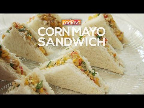 Corn Mayo Sandwich  |  Ventuno Home Cooking