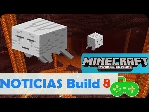 El Nether Y MAS DE MINECRAFT PE 0.11.0 BUILD 8