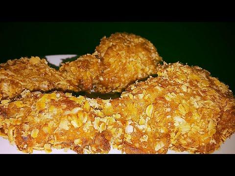 Asli Crispy KFC Style Fried Chicken Recipe in Hindi - kfc Hot Chicken Lollipop - KFC Drumstick