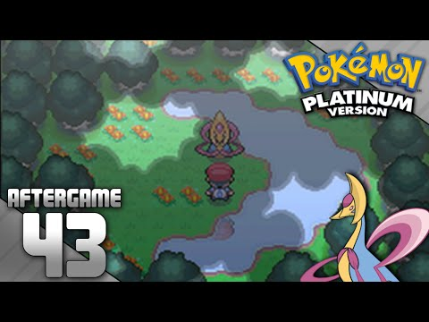 Pokemon Platinum Part 43 - Catching Cresselia
