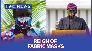 Reign of fabric masks, as more Nigerians embrace use