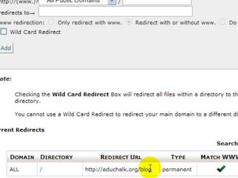 How to Redirect Your Root URL to Your WordPress Subdirectory Using Cpanel