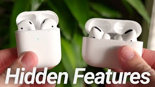 AirPods & AirPods Pro Hidden Features! 10 Apple Secrets