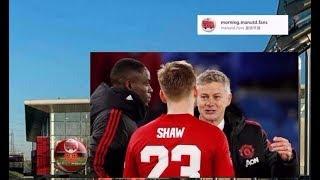誰人背叛了誰? 敢言的勞基梳爾 #LukeShaw23 #MUFC