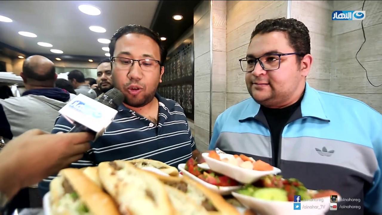 لقمة هنية | الحلقة الكاملة مع عز المنوفي أشهر محل للكبدة والسجق