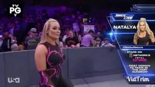 720pHD WWE SmackDown Live 2017.01.10 Natalya vs Nikki Bella Brawl