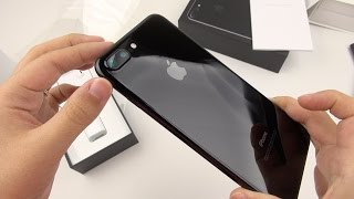 iPhone 7 Plus Jet Black: Unboxing a Unicorn!