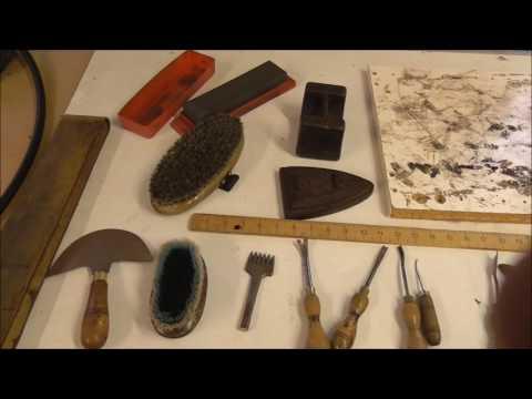 Saddle making tools