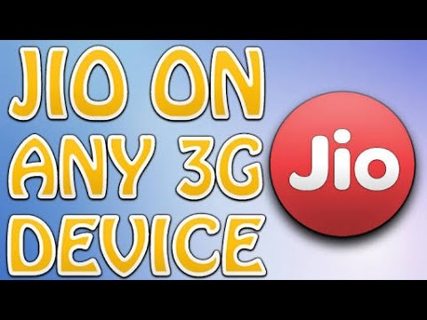 How to use Jio in 3g and 2g mobile