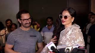UNCUT   Secret Superstar Movie Screening   Aamir Khan   Rekha   Jacqueline Fernandez   Full Video