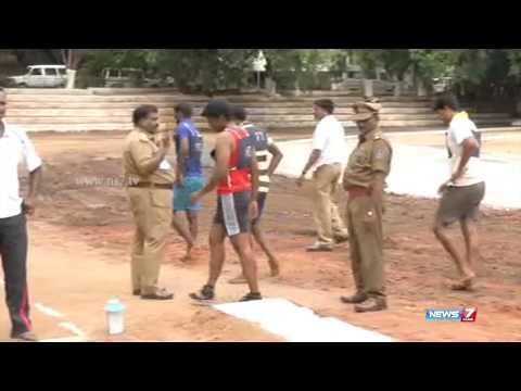 Police recruitment underway in Puducherry | Tamil Nadu | News7 Tamil |