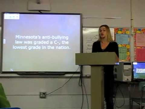 Student Bullying Persuasive Speech