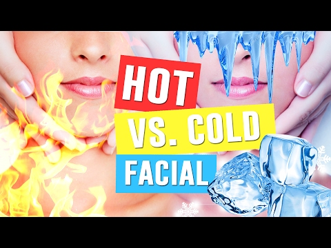 Hot Vs Cold Facial with Honey, Milk & Ice | Skin Care Tips for Flawless Skin