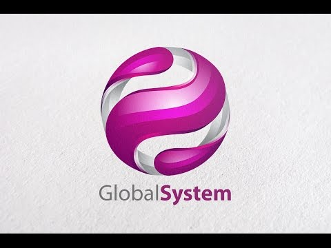 Tutorial How to Make the best 3D Global Logo Design look professional in adobe illustrator CC