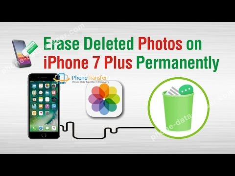 How to Erase Deleted Photos on iPhone 7 Plus Permanently