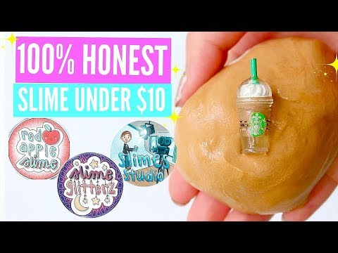 100% HONEST 🍑✨ Famous Instagram Slime Shop Review! Famous AFFORDABLE U.K. Slime Package Unboxing