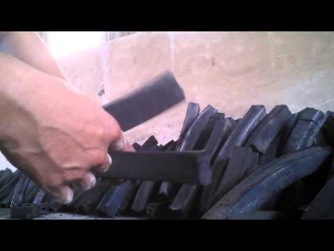 100% bamboo charcoal briquette