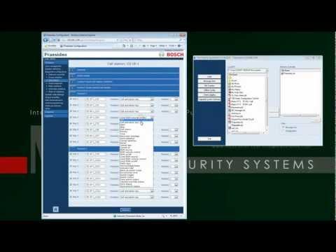 Praesideo 3.50 software installation - Call Macro and Call Station setup
