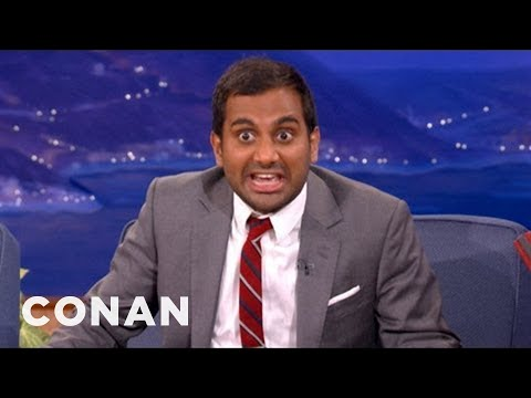 Aziz Ansari Knows How To Handle Bullies - CONAN on TBS