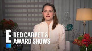 """Daisy Ridley Talks """"Star Wars: The Last Jedi"""" 