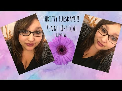 Zenni Optical Review- Thrifty Tuesday