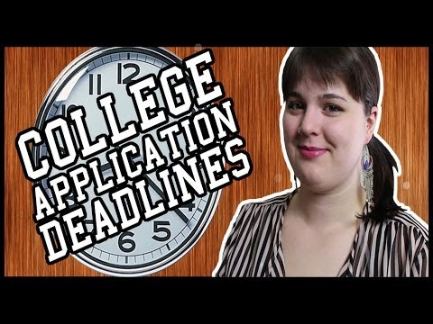 College Admissions: When should you apply?