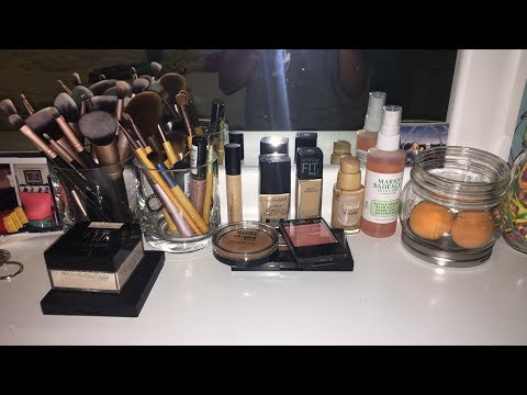 SMALL MAKEUP COLLECTION 2018!!   Maya's Diy Channel