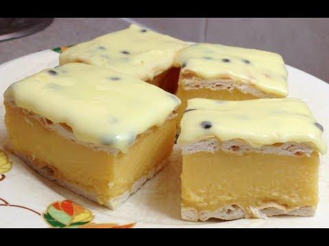 Vanilla Slice No Bake Cheaters Thermochef recipe cheekyricho