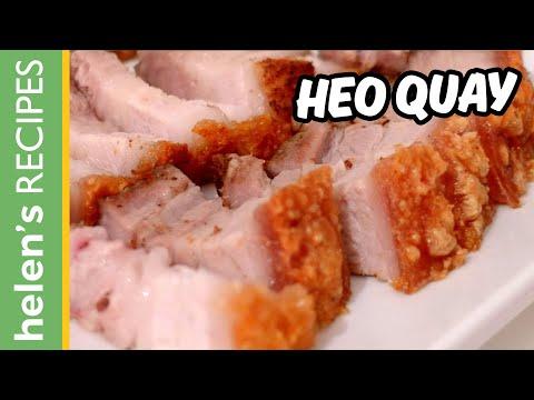 How to make CRISPY ROAST PORK - Thịt heo quay