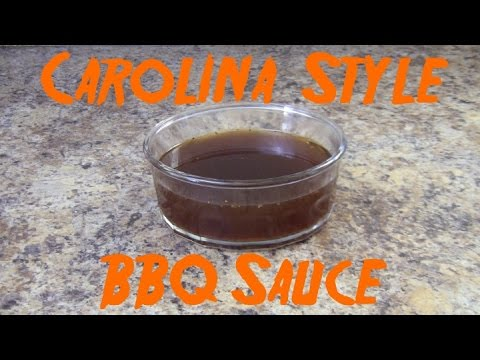 Carolina Vinegar Sauce - BBQ Sauce Recipes #3